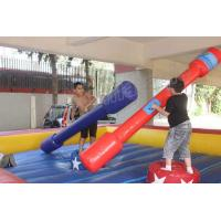 China Red and Blue Gladiator Joust Inflatable Sports Games for Kids and Adults on sale