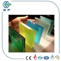 Solid Curve / Flat Laminated Glass Panels Clear Grey Bronze for Window , door Manufactures