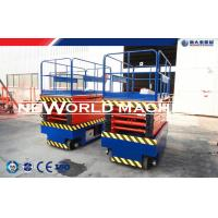 1.1kw CE Certificated Self Propelled Scissor Lift With Electric Motor Manufactures
