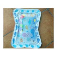 Funny Inflatable Toddler Play Water Mat With Toys Inside Size 66*50cm Manufactures