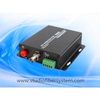 Buy cheap OEM high quality 1CH AHD fiber converters,ahd video transmitter&receiver to support 720P 1080P AHD signal over fiber from wholesalers