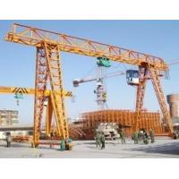MH Type Single Girder Gantry Crane , Truss Gantry Crane With Electric Hoist Manufactures