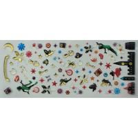 China Colorful Kawaii Epoxy Dome Stickers with Trasparent PVC Clear Epoxy on sale