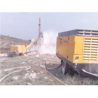 China Double Flighted Diesel Engine Air Compressor , Mining Drilling Screw Air Compressor on sale