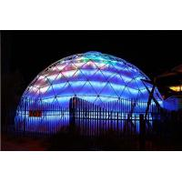 Lightweight Large Geodesic Dome Tent , Festival Geo Dome Camping For Big Capacity Manufactures