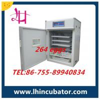 CE Marked Automatic Poultry Small Chicken Egg Incubators 264 Chicken Eggs(lh-3) Manufactures