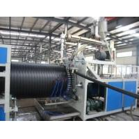 PE Large Caliber Hollowness Wall Plastic Pipe Making Machine PLC automatic control Manufactures