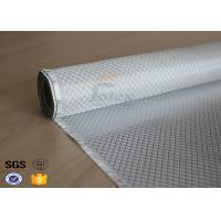 Quality Flame Retardant Fiberglass Fabric Silver Plated Fabric Double Sides 230g for sale