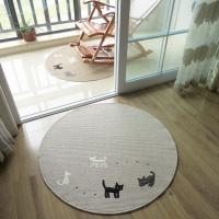 Anti-Slip Washable Floor Mat With Cat Logo Floor Covering Carpet From Carpets Factory Manufactures