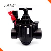 Home Garden Automatic Valves For Drip Irrigation Below 43°C BSP Female Threaded Manufactures