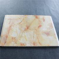 Marble Pvc Interior Wood Polymer Composite Siding , Wood Plastic Composite Wall Panel Manufactures