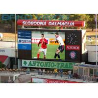 High Brightness Stadium Perimeter LED Display With 160 Degree Viewing Angle Manufactures