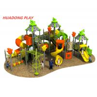 China Magic House Series Outdoor Ride Kids Plastic Slide Equipment For 3-12 Years Old on sale