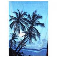 Microfiber polyester double-sided fleece printed Beach towel Manufactures