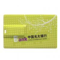 Customized 2GB Credit Card USB Stick With High Speed USB 2.0 Manufactures