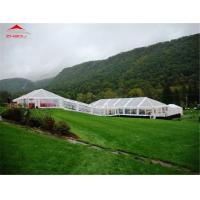 High Reinforced Aluminum Wedding Party Tents Rental Customized Size Manufactures
