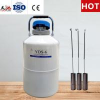 China TIANCHI Cryogenic Liquid Tank 6L Chemical Storage Container Quotation on sale