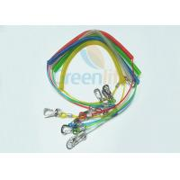 Colorful TPU Coated Paddle Leash For Kayak Braided Steel Fishing Spring Tethers Manufactures