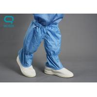China Light Weight ESD Cleanroom Shoes 22.5-32.5cm Size PU Sole Material on sale