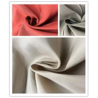 Plain Coated Soft Nylon Fabric , 45%N 55%P Lightweight Outdoor Nylon Fabric Manufactures