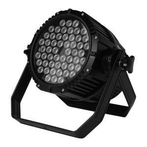 Best Selling disco DJ lights high power 54x3w rgbw waterproof IP65 led par Manufactures