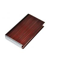 Electrophoresis 6063-T5 Aluminium Window Extrusion Profiles By Bending / Cutting Manufactures