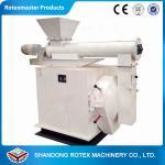 Horizontal Ring Die Chicken Feed Pelletizer Machines Crop Stalks , Coarse fiber
