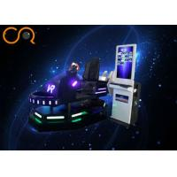 """Professional VR Racing Simulator 9D VR Technology With 42"""" / 19'' Screen Manufactures"""