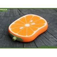 Orange Shaped Cell Phone Power Bank , Iphone 5s / 6 / 6s Power Bank Manufactures