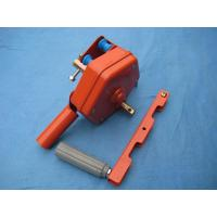 Steel manual gear roll up motor for greenhouse sidewall windows Manufactures