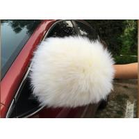 Lint Free Long Wool Dust Cleaning Gloves With Extra Thick Wool Pile 70g Manufactures