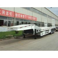 40 ton low bed Semi-trailer with tri-axle Manufactures