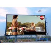 SMD3535 3 In 1 Full Color Outdoor Advertising LED Display P8 1920Hz Refresh Rate Manufactures