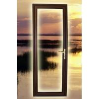 Quality LM62D aluminium-wood outside open door,double glazing glass,airproof, waterproof, soundproof are more salience for sale