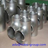 SCH 80 ASTM A403 WP316L Stainless Steel Equal Butt Welding Tee For Gas Oil Manufactures