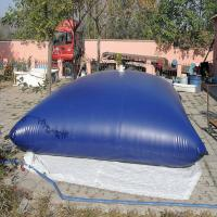 Water Storage Bladder Tanks Waterproof PVC Tarpaulin Anti - Static Treatment Manufactures