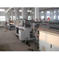Twin - Screw Pvc Foam Board Machine / Production Line / Extrusion Line Fully Automatic Manufactures