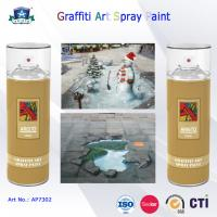 400ml Canned Environmental Fast Drying Graffiti Spray Art Paint for Artist On Metal Wood Manufactures