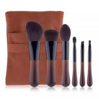 China High quality soft touch makeup brush travel set OEM cosmetic brush set factory on sale
