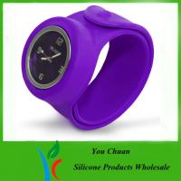 Quality Slap Band Wristwatch / Snap Watch Bands / Slap Watches For Boys / Girls for sale