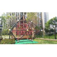 Children Outdoor Polyester Rope Kids Climbing Net Playground With ASTM Certification Manufactures