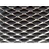 Aluminium Expanded Wire Mesh Screen Metal Sheet Diamond Hole Shape Customized for sale