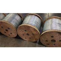 """1/4"""" Galvanized Steel Strand Cable Guy Wire Rope 1x7 Structure Packing 5000ft / Reel Manufactures"""