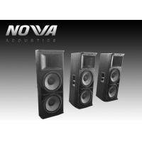 Powered Conference Hall Sound System 37 Hz-20 KHz With Birch Plywood Manufactures