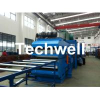 24m Upper & Bottom Conveyor Continuous PU Sandwich Panel Forming Machine Manufactures