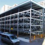 Q345 Garage Steel Frame Hangar Car Parking Building / Plane Warehouse Manufactures