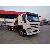 China Sinotruk Howo 6x4 Truck Mounted Crane Euro 2 Left Hand Driver Right Hand Driver on sale