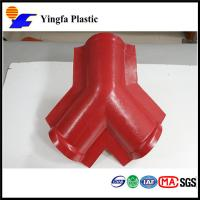 China accessories  Ridge tile, sink,Gutter, screw, drip tile for ASA synthetic resin roof tile on sale