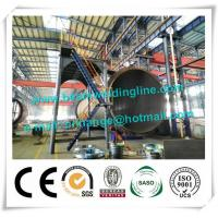120T Cement Tank Welding Rotator , Pipe Welding Rotator For Tank And Vessel Manufactures