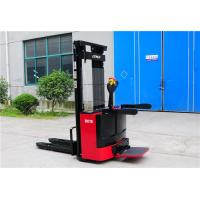 Narrow Aisle Electric Hand Pallet Truck , Motorized Pallet Stacker 1.8 Ton 2 Ton Manufactures
